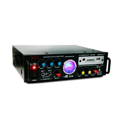 AV-339     Amplificador del altavoz 4 -16ohm, potencia de entrada 12 Volt. DC5A AC220V-240V