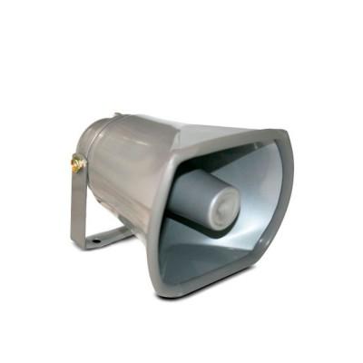 HORN1 | Parlente Potencia máxima de 25W - Frecuencia nominal 400Hz ~ 9KHz -20dB banda - Material de aluminio