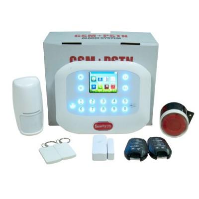 DY600-D | Sistema de control de alarma inteligente GSM + Linea PSTN Alarma de red