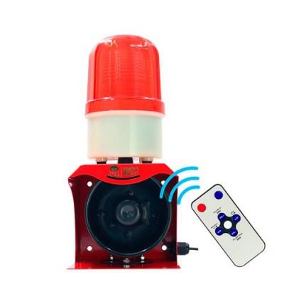 SF-532 | Alarma comunitaria con sirena flash programable 12v - 24v