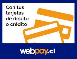 con tus tarjetas de débito o crédito