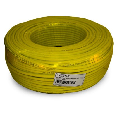 CABM100AM | Cable UTP Multifilar Amarillo