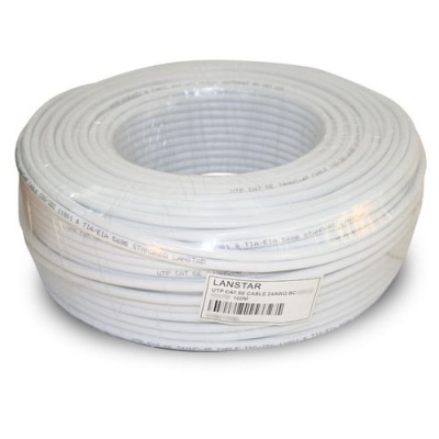 CABU100BL | Cable UTP Unifilar CAT.5e Blanco