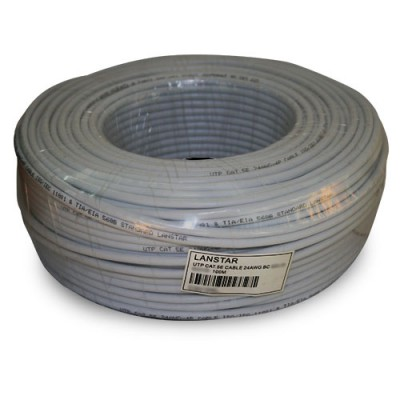 CABU100CCAGR | Cable UTP Unifilar CAT.5e CCA Gris