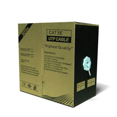 CABU305CCABL-G | Cable UTP Unifilar CAT.5e CCA Blanco