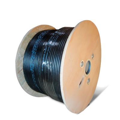 CABO305NE-MG | Cable UTP Exterior Unifilar Mensajero y Gel