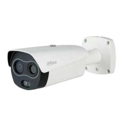 DH-TPC-BF5421P-TD13F8-HTM   Cámara bullet IP térmica 2 megapíxeles. Óptica visible de 8 mm