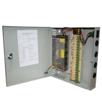 ITP-1815B | FUENTE DE PODER SWITCHING 12V 15A 18 CANALES CON GABINETE