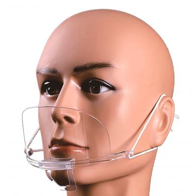 F02 | Mascarilla Plástica Ultra-ligero – cómodo ajuste- Paquete 10U