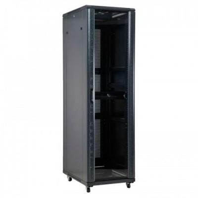 6016647NE | Rack 47U con Ventilador Negro