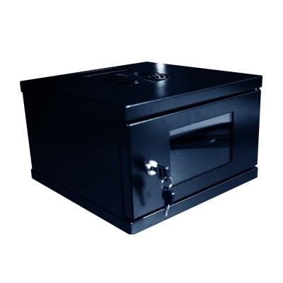 SQ3003NE | Gabinete 3U Negro ancho 30cm.