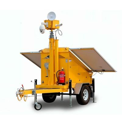 ITR900A-C | Remolque 3 x 330w Panel solar 4 x 200Ah Eléctrico/ Mástil Hidráulico
