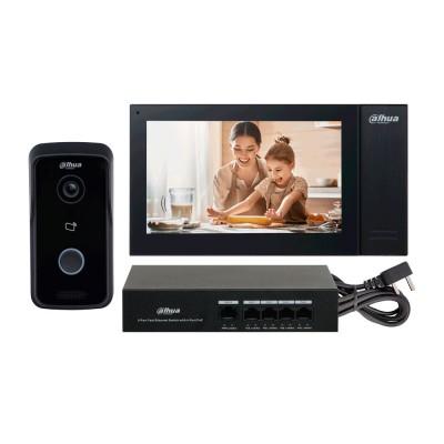 DHI-KTP02 | Videoportero y monitor interior de villa IP